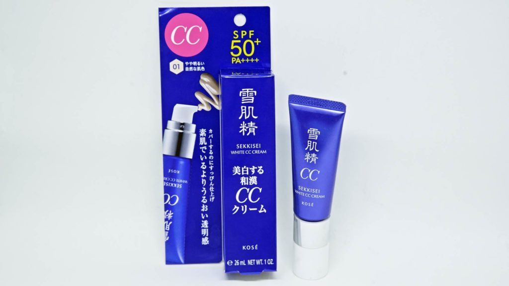 Japanese CC Cream - Kose Sekkisei White CC Cream